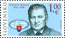 [The 100th Anniversary of the Birth of Stefan Roman, 1921-1988, type AEK]