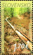 [The 150th Anniversary of the Forestry's Independence from Mining, type AEQ]