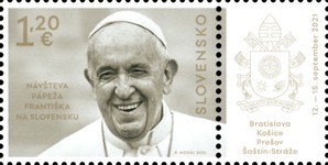 [The Visit of Pope Francis to Slovakia, type AET]