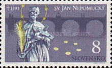 [The 600th Anniversary of the Death of Johannes of Nepomuk, type CF]