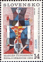 [EUROPA Stamps - Contemporary Art, type CM]