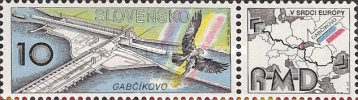 [Completion of the Danube Barrage - Gabcikovo, type CT]
