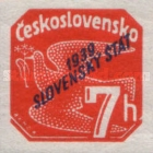 [Czechoslovakian Newspaper Stamps  Overprinted
