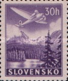 [Airmail - Airplanes over Mountain Landscapes, type L]