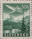 [Airmail - Airplanes over Mountain Landscapes, type L1]