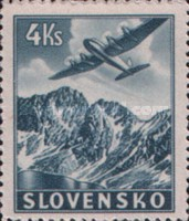 [Airmail - Airplanes over Mountain Landscapes, type M2]