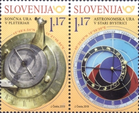[Astronomical Clock, Stará Bystrica - Joint Issue with Slovakia, type ]