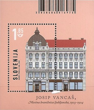 [Architecture - Municipal Savings Bank, Ljubljana, type ]
