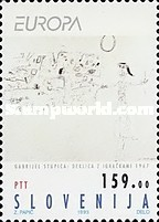 [EUROPA Stamps - Contemporary Art, type AJ]