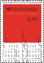 [The 100th Anniversary of the University of Ljubljana, type ARO]