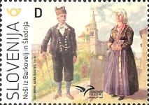 [EUROMED Issue - Traditional Costumes, Typ ART]
