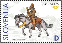 [EUROPA Stamps - Ancient Postal Routes, type ATF]