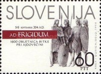 [The 1600th anniversary of the Battle of Frigidus, type CA]