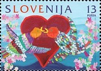 [Stamp of Love, type DK]