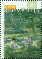 [EUROPA Stamps - Famous Women, type DV]