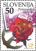 [The 50th Anniversary of the Reunification of Primorska with the Homeland, type GL]