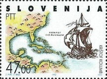 [EUROPA Stamps - The 500th Anniversary of the Discovery of America, type I]