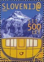 [The 500th Anniversary of Postal Service in Slovenia, type JJ]