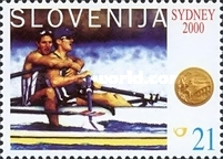 [Olympic Gold Medals for Slovenia, type KU]
