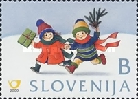 [Christmas and New Year Stamps, type KW]