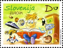 [EUROPA Stamps - Children's Books, type ZB]