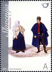 [National Costumes from the Notranjska Region, type ZY]