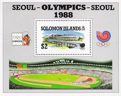 [Olympic Games - Seoul, South Korea, Typ ]