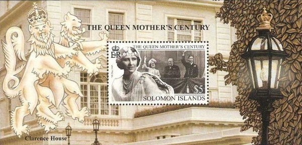 [The 99th Anniversary of the Birth of Queen Elizabeth the Queen Mother, 1900-2002, type ]