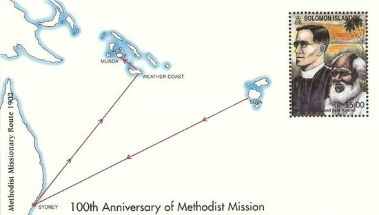 [The 100th Anniversary of Methodist Mission, Typ ]