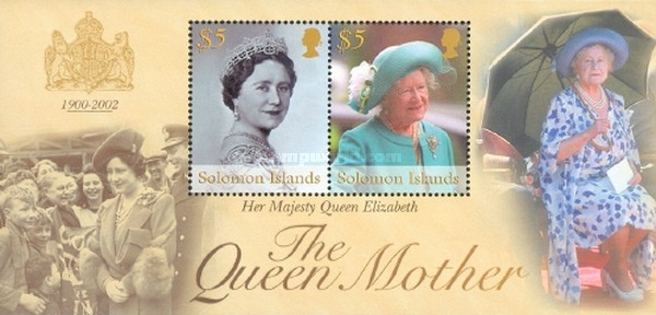 [Death of Queen Elizabeth the Queen Mother, 1900-2002, Typ ]