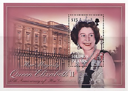 [The 50th Anniversary of the Coronation of Queen Elizabeth II, Typ ]