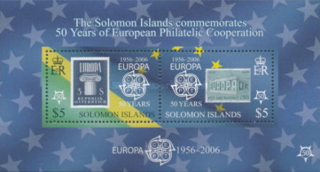 [The 50th Anniversary (2006) off the First EUROPA Stamps, Typ ]