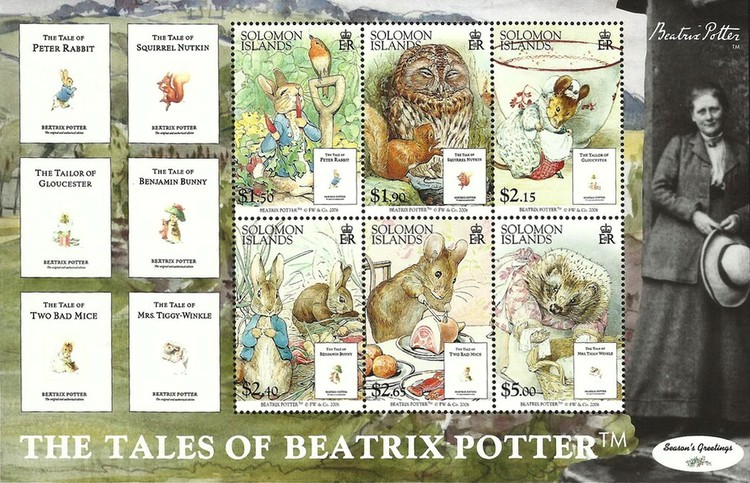 [The Tales of Beatrix Potter, 1866-1943, type ]