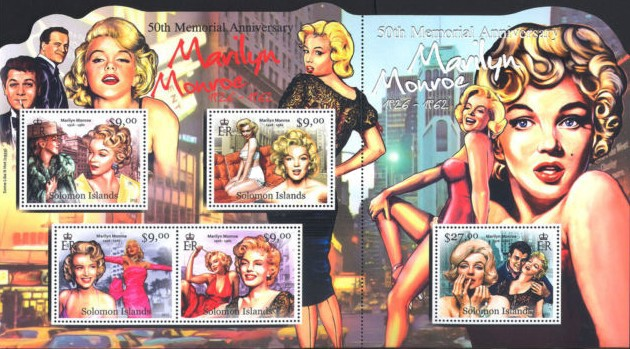[The 50th Anniversary of the Death of Marilyn Monroe, 1926-1962, Typ ]