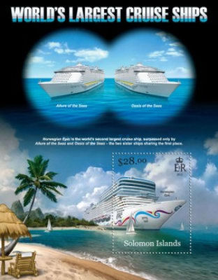 [World's Largest Cruise Ships of Solomon Islands, Typ ]