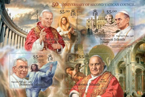 [The 50th Anniversary of the Second Vatican Council - Popes, type ]