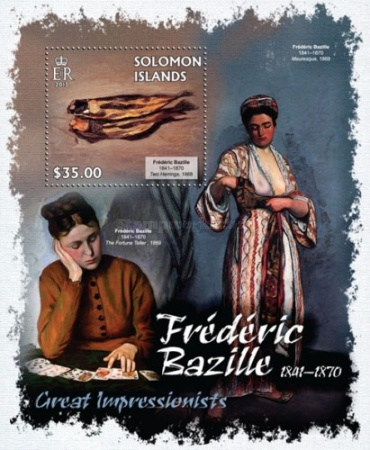 [Paintings by Frederic Bazille, 1841-1870, Typ ]