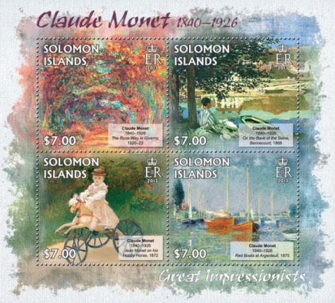 [Paintings by Claude Monet, 1840-1926, Typ ]