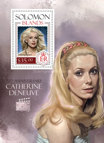 [The 70th Anniversary (2013) of the Birth of Catherine Deneuve, Typ ]