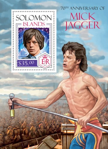 [The 70th Anniversary (2013) of the Birth of Mick Jagger, Typ ]