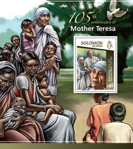 [The 105th Anniversary of the Birth of Mother Teresa, 1910-1997, type ]