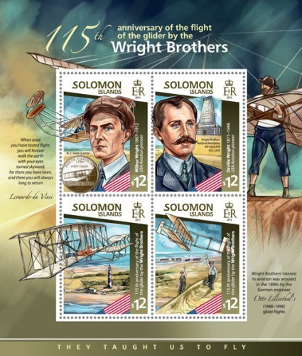 [Transportation - The 115th Anniversary of the Flight of the Glider by the Wright Brothers, type ]