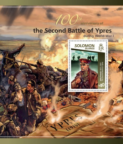 [World War I - The 100th Anniversary of the Second Battle of Ypres, type ]
