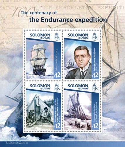[The 100th Anniversary of the Endurance Expedition, type ]
