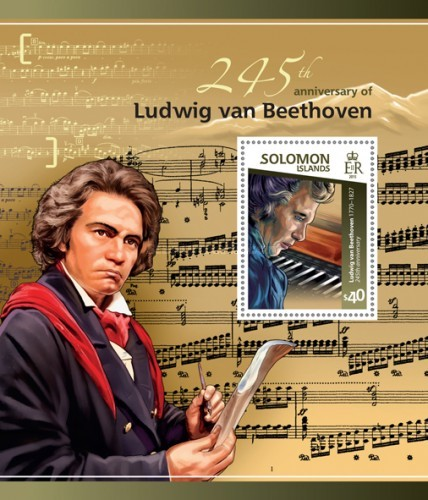 [The 245th Anniversary of the Birth of Ludwig van Beethoven, 1770-1827, type ]