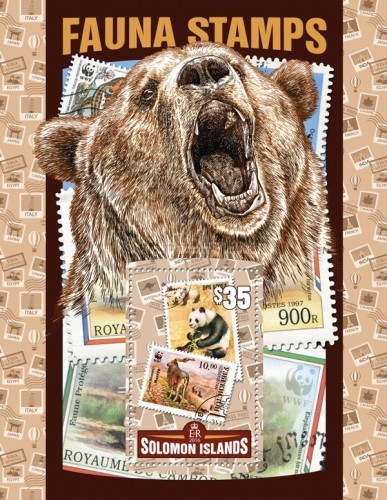 [Fauna Stamps, Typ ]