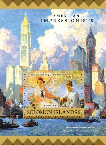 [Paintings - American Impressionists, Typ ]