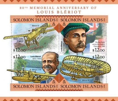 [The 80th Anniversary of the Death of Louis Bleriot, 1872-1936, Typ ]
