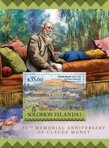 [Paintings - The 90th Anniversary of the Death of Claude Monet, 1840-1926, Typ ]