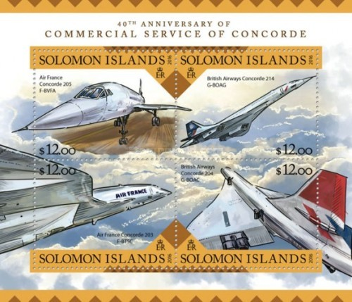 [The 40th Anniversary of the Commercial Service of Concorde, Typ ]